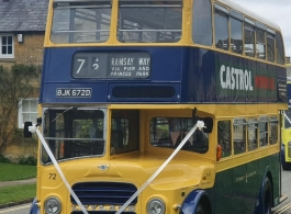 Double deck bus for weddings in Gloucester